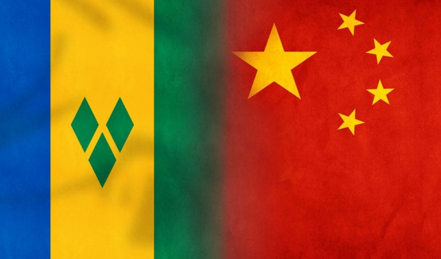 China investing in St Vincent and the Grenadines