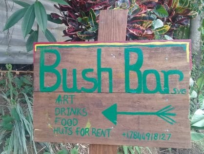 Bush Bar is one of St Vincent's hidden gems