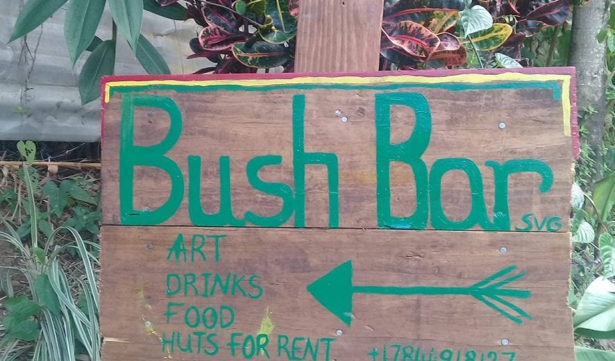 Bush Bar is one of St Vincent's hidden gems